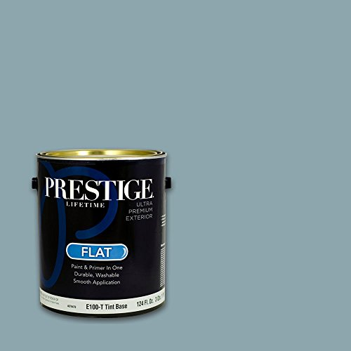 Prestige, Greens and Aquas 8 of 9, Exterior Paint and Primer In One, 1-Gallon, Flat, Coastal Surf
