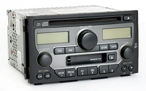 Am Pilot Vehicle (Honda Pilot 2003-2005 Radio AM FM CD Cassette Player 39100-S9V-A120 - Face)