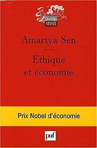 Éthique et économie par Amartya Sen