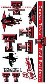 WinCraft NCAA Texas Tech University 14312032 Tattoos]()