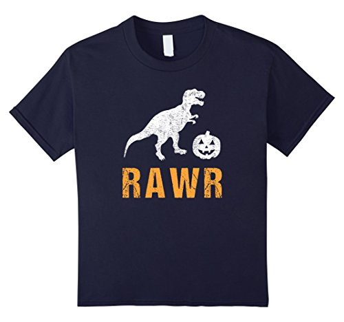 Halloween Guys Ideas Costume Unique For (Kids T Rex Dinosaur Halloween Shirt Costume for Kids Boys Girls 6)