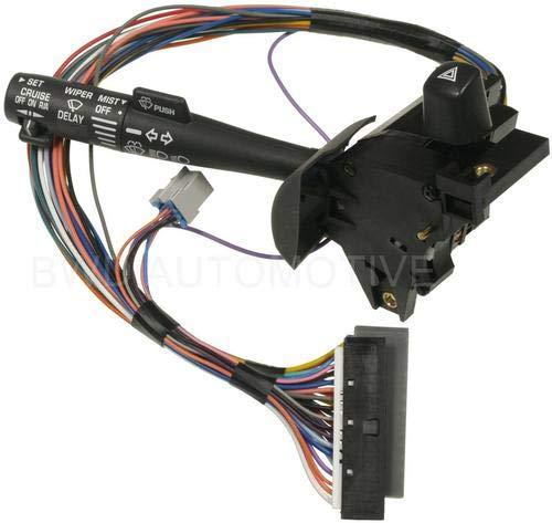 Bwd Windshield Wiper Switch - BWD 29 Terminal Standard Ignition Multi-Function/Purpose Hawzard Warning Switch (S14315) for Pontiac Grand Prix 2000-2003