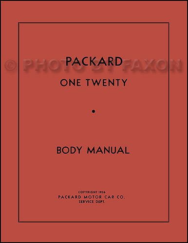 1935-1942 Packard 120 Body Repair Shop Manual Reprint for sale  Delivered anywhere in USA