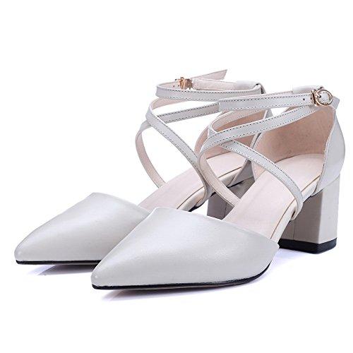 Blanc BalaMasa Femme Sandales Compensées Blanc Compensées Sandales BalaMasa BalaMasa Femme Compensées Sandales 4g46qPwx