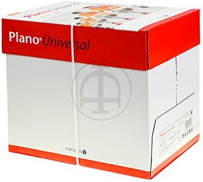 nobrand Plano UNIVERSAL Papier A4 Weiss 1Ries=500Blatt 80gr FSC 5 x 500 Blatt