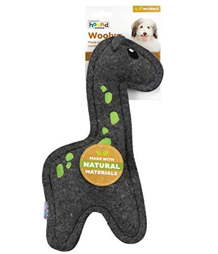 Outward Hound Naturals Dog Toy Sustainable Wool Giraffe