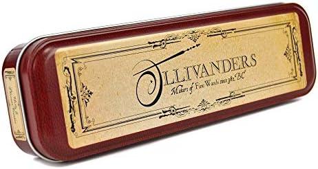 Harry Potter Estuche para lápices de Harry Potter, modelo de Ollivander S Wand Shop: Amazon.es: Oficina y papelería