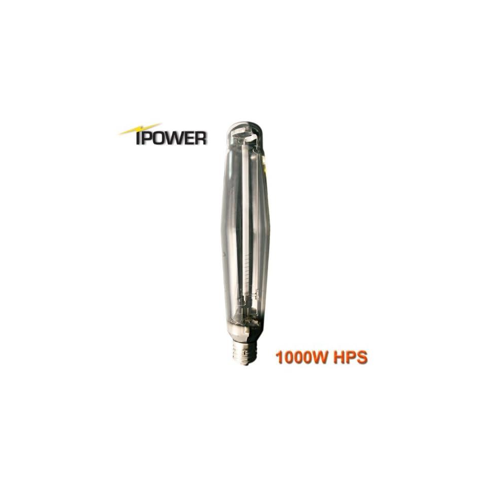 iPower GLBULBH1000 1000 Watt Super HPS Grow Light Bulb for Magnetic and Digital Ballast