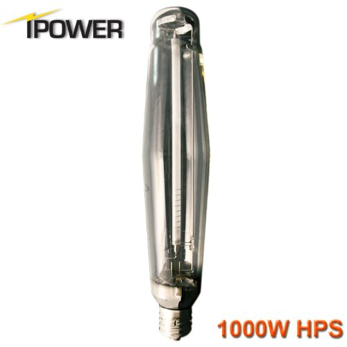 iPower 1000 Watt High Pressure Sodium Super HPS Grow Light Lamp Bulb Full Spectrum