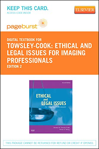 Ethical and Legal Issues for Imaging Professionals - Elsevier eBook on VitalSource (Retail Access Card)
