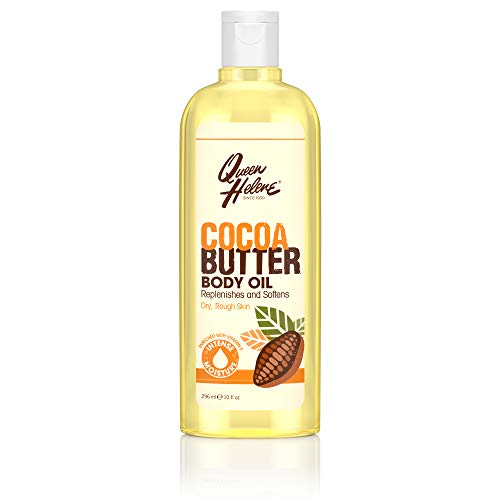 Queen Helene Cocoa Butter, Body Oil with Vitamin E, 10 Ounce (Pack of 6) [Packaging May ()
