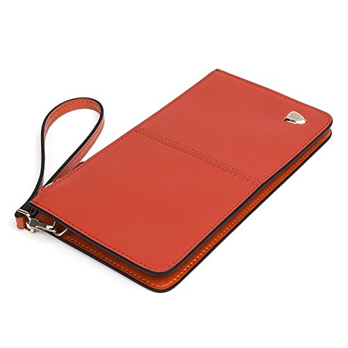 BOSTANTEN Women Leather Clutch Long Cell Phone ...
