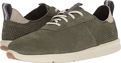 (TOMS Men's Cabrillo Suede Sneaker, Size: 10 D(M) US, Color: Pine Suede)