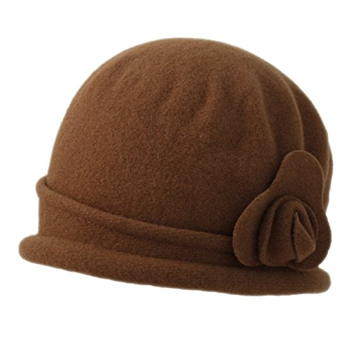 Parkhurst Spencer Wool Cloche (Tobacco)