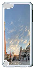 iPod Touch 5 Case and Cover -Piazza San Marco in Venice PC case Cover for iPod Touch 5¨C White
