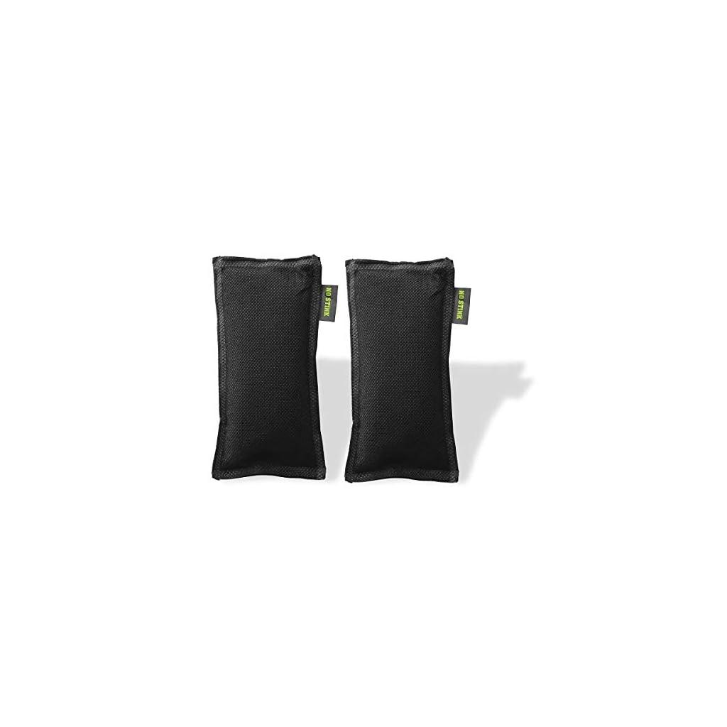 No-Stink-Deodorante-al-Carbone-di-bamb-Multiuso-per-Auto-cassetti-Guanti-Scarpe-Animali-Domestici-Bagagli-Nero-Taglia-Unica