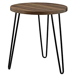 Ameriwood Home Owen Retro End Table, Walnut