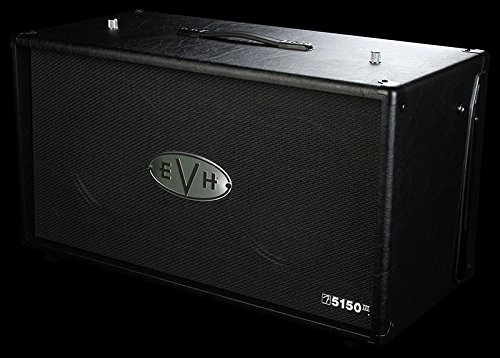 EVH 5150 III 2 x 12'' Straight Cabinet - Black by EVH