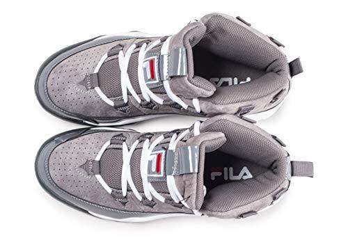 1010491 Sneakers 6qw 95 Grigio 41 Grigio Fila Bianco ZInxR