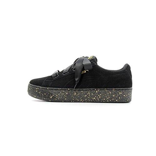 366815 Team Gold Sneakers Puma Donna Bassa 01 Black ApYxw8dq