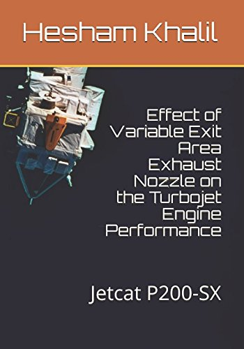 - Effect of Variable Exit Area Exhaust Nozzle on the Turbojet Engine Performance: Jetcat P200-SX