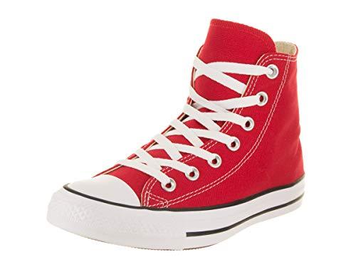 Converse Women's Chuck Taylor All Star Hi Red Basketball Shoe 5.5 Women US by Converse