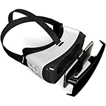 V.one 3D Virtual Reality Glasses with Bluetooth Remote Control for Mobile Phone VR Games and 3D Movie Compatible with Smartphone iPhone Samsung Android (Black)