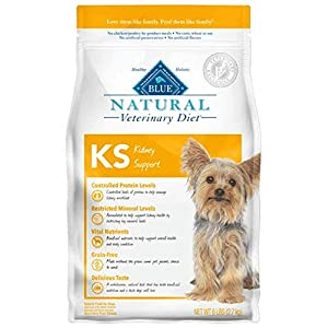 Blue Buffalo Natural Veterinary Diet Kidney Support for Dogs 6Lbs 100