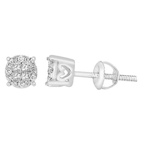 0.26 Ct Princess Diamond - 4