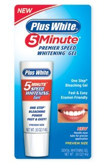Plus White 5 Minute Whitener Gel 0.5 oz