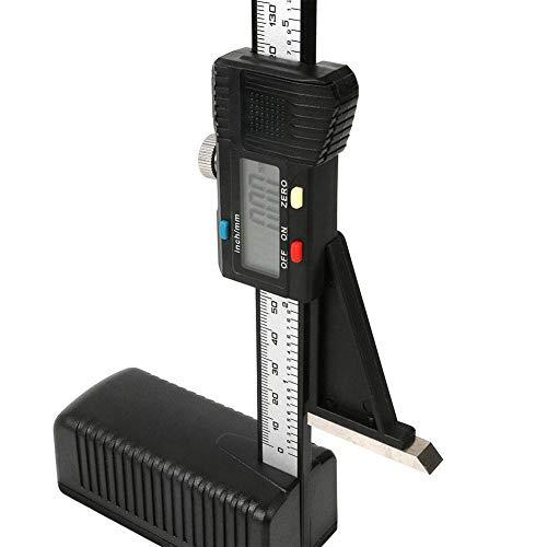 Medidor de altura digital, escala digital de plástico lineal vertical, herramientas de medición, para bricolaje de…