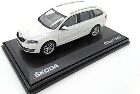 Original Skoda Octavia III Kombi Modellauto 1:43 wei/ß