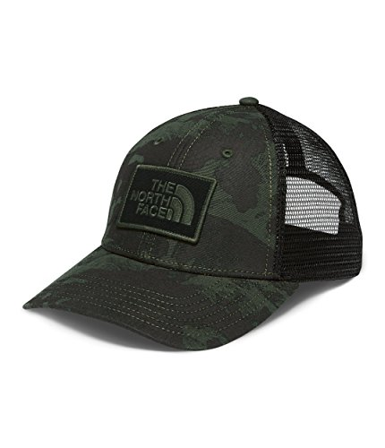 The North Face Printed Mudder Trucker Hat - New Taupe Green Tropical Camo Print - One Size (Camo New Taupe)