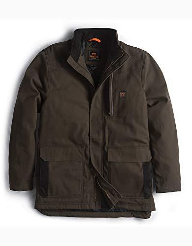 Walls Men's Super Duck Insulated Coat, bark Brown, Medium (Coat Rancher For Men)