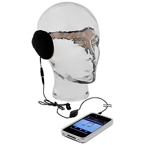 GreatGadgets 1860-1 MP3 Ohrenwärmer schwarz