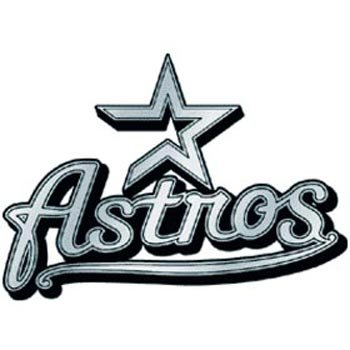 - MLB Houston Astros Chrome Automobile Emblem