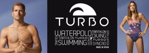 Turbo - Bañador Crystal azul de Waterpolo Competicion Natación y Triatlón: Amazon.es: Ropa y accesorios