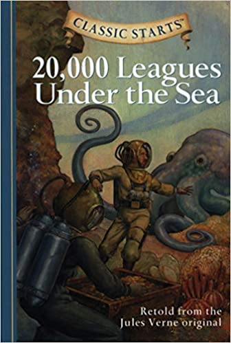 Classic Starts 20 000 Leagues Under The Sea Verne Jules Pober Ed D Arthur Church Lisa Andreasen Dan 9781402725333 Books Amazon Ca