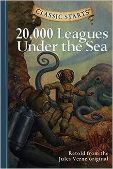 Book's Cover of 20,000 Leagues Under the Sea (Anglais) Relié – Version coupée, 28 mars 2006