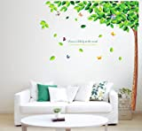 Wall Décor Stickers Fashion Removeable Decor Leaves Wall Sticker Decal Decoration Art Home Tree Wall Stickers/ Wall Stickers Quotes/ Wall Art