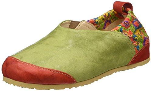 Femme Sabots Multicolour Multicolore Dufde 99 Think E0wq8g