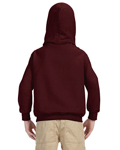 Indica Plateau Kids Hoodie Its About to Get Messi Large Maroon Hoodie by Indica Plateau (Image #3)
