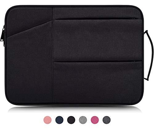 15.6 Inch Laptop Briefcase Waterproof Notebook Sleeve Bag fit Acer Aspire E 15/Predator Helios 300/Chromebook 15,Asus VivoBook F510UA, MSI GL62M,LG Gram,Dell ASUS Lenovo HP 15.6 inch Laptop Case,Black