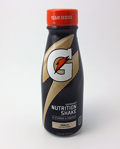 Gatorade Nutrition Shake 12 Count Now in Bottles (Vanilla)