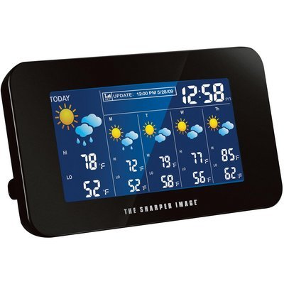 The Sharper Image EC-WS115 Internet Weather Station Wireless Weather Forecaster