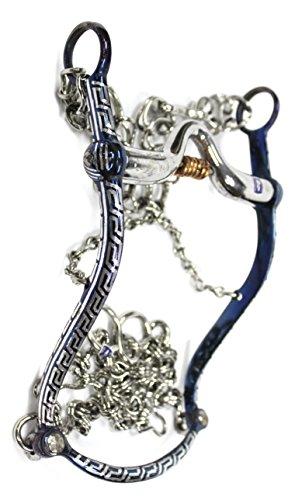 5-1-8-13-cm-blue-charro-horse-bit-freno-azul-charro-pavoneado