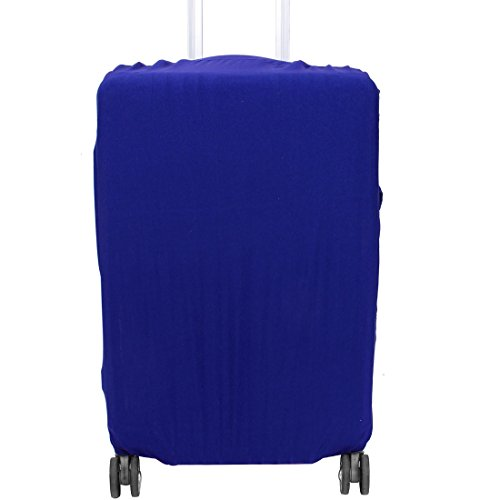 uxcell SAFEBET Authorized Polyester Travel Luggage Elastic Dustproof Protect Cover Case L 26-30 Inch Blue by uxcell