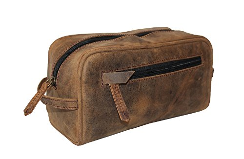 LUST Genuine Leather, Unisex bag, Toiletry Bag, Travel Dopp