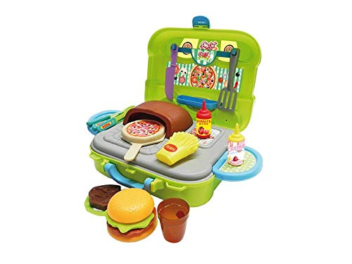 Playset Pizzaria Xalingo Verde