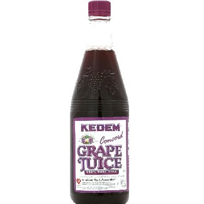 Kedem Concord Grape Juice, 22 Ounce - 12 per case.